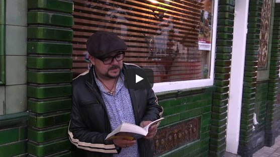 David Mark on location in Hull reads from <em>Dead Pretty</em>