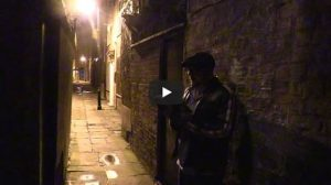 David Mark reads on location in Hull